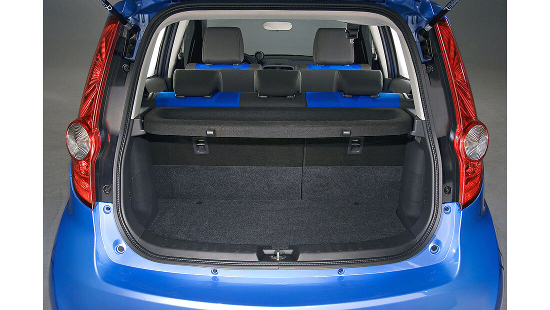 Opel Agila Kofferraum