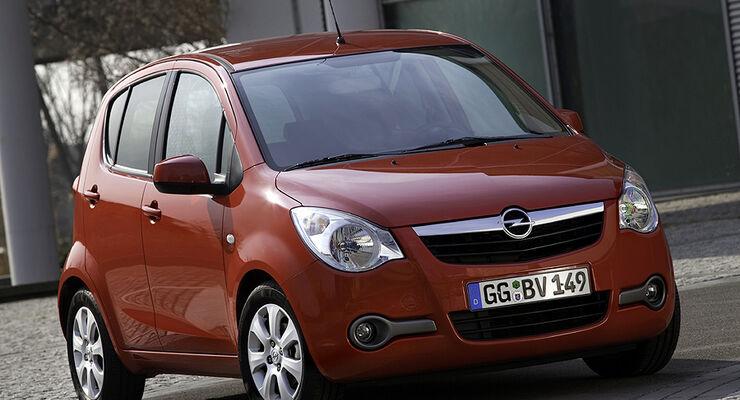 Opel Agila LPG
