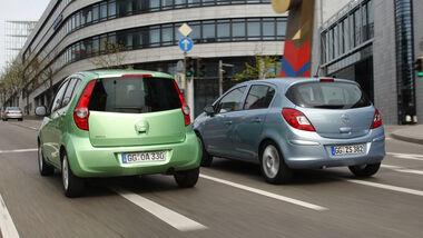 Opel Agila, Opel Corsa