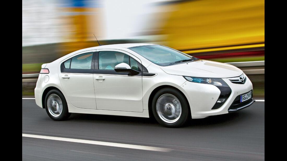 Opel Amera, Seitenansicht