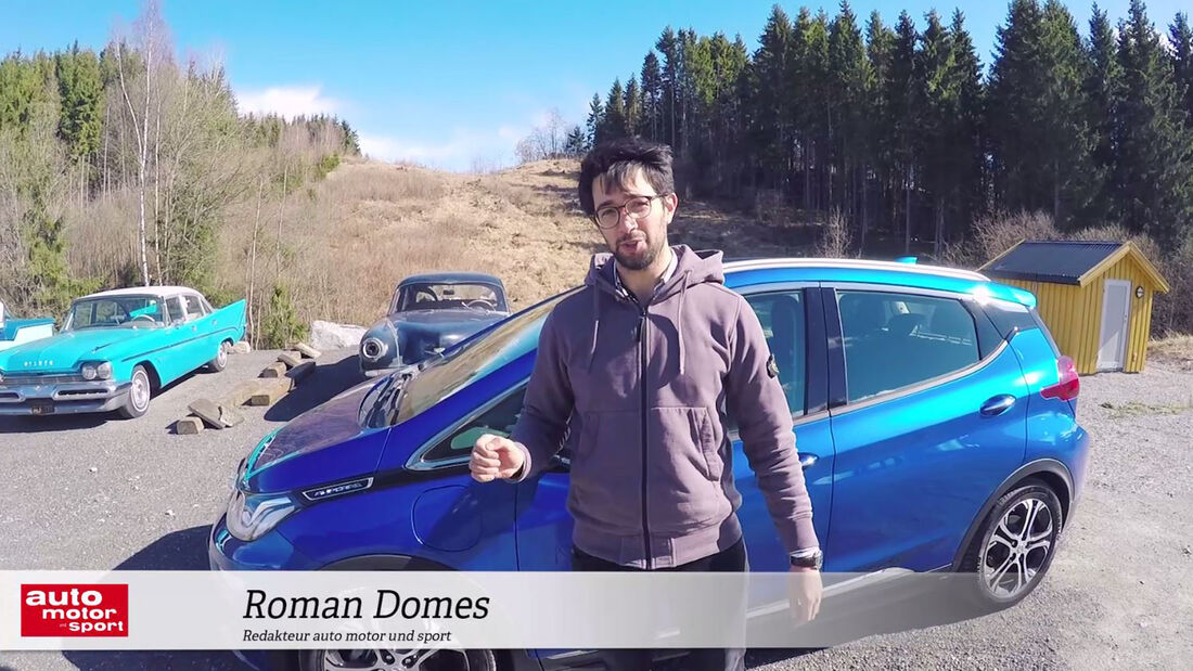 Opel Ampera-E im Video-Check, Roman Domes