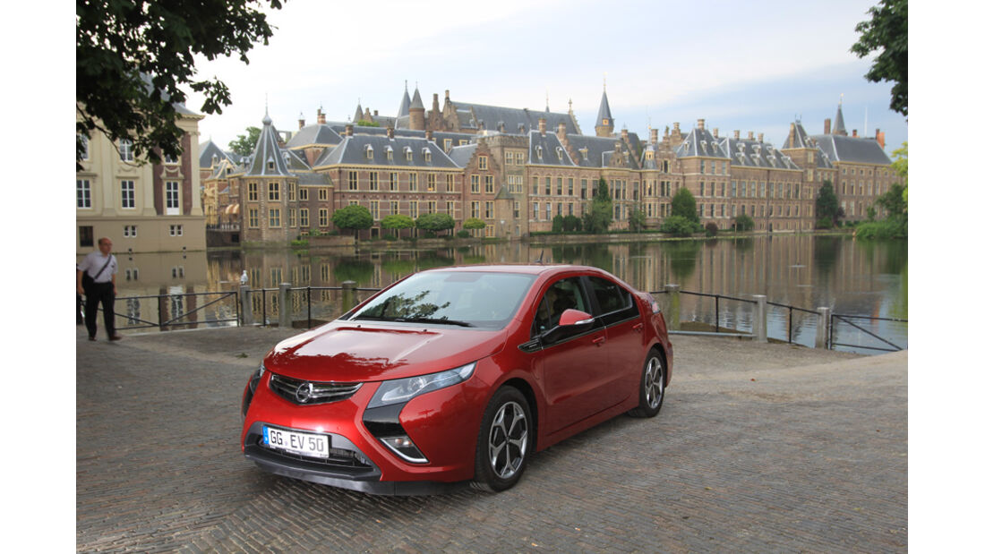 Opel Ampera, Frontansicht