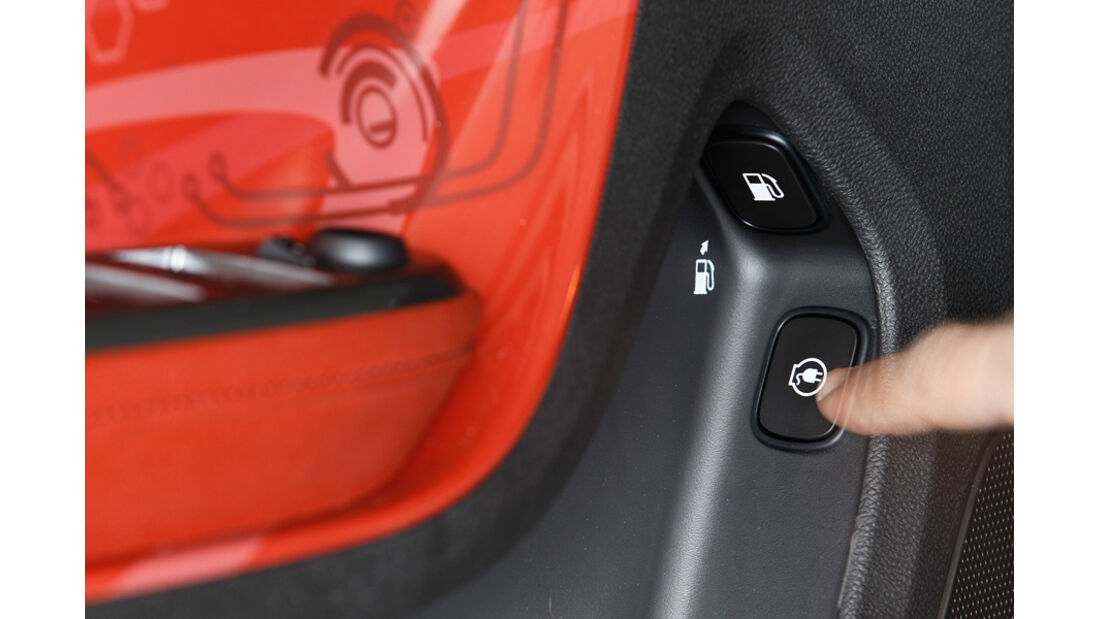 Opel Ampera, Schalter, Strom