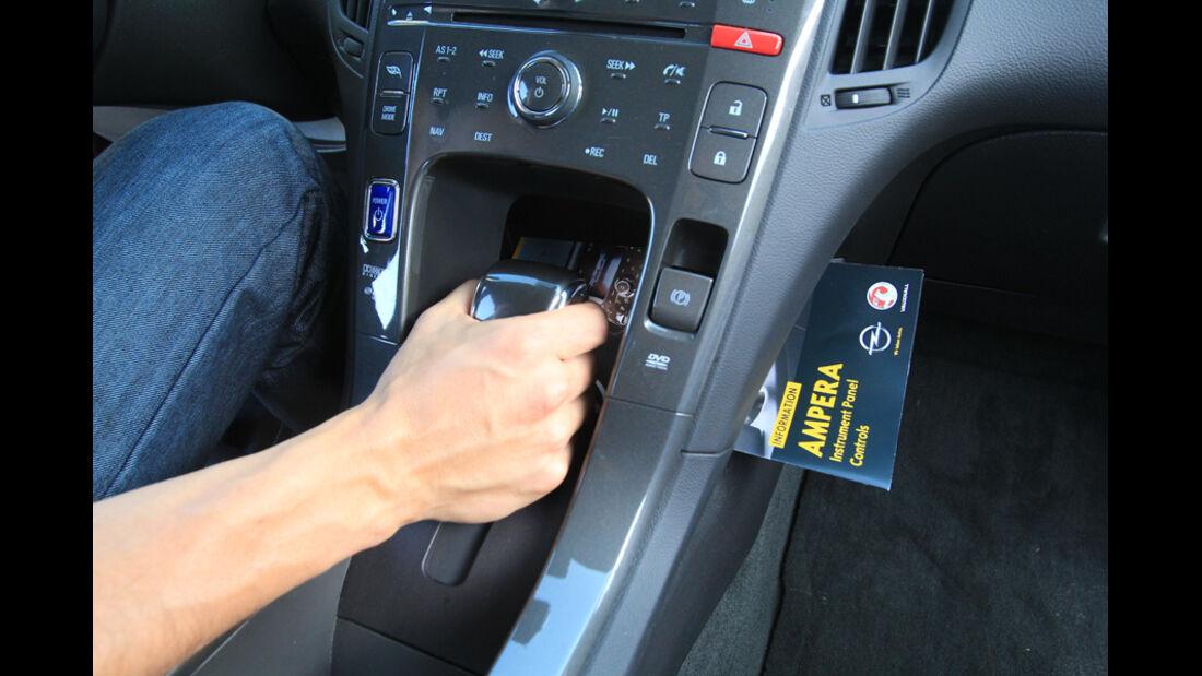 Opel Ampera, Schalthebel, Schaltknauf, Gangschaltung