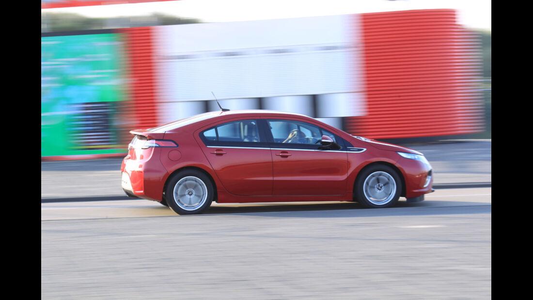 Opel Ampera, Seitenansicht