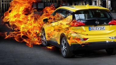 Opel Ampera-e Rückruf Akku Brandgefahr
