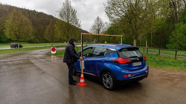 Opel Ampera-e auf der iMobility Rallye