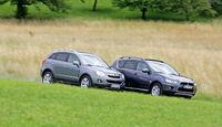 Opel Antara 2.2 CDTI Cosmo, Mitsubishi Outlander, 2.2 DI-D Instyle