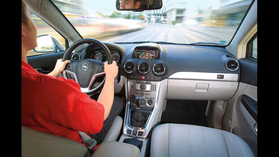 Opel Antara, 2.2 CDTi, 4x4, Innenraum