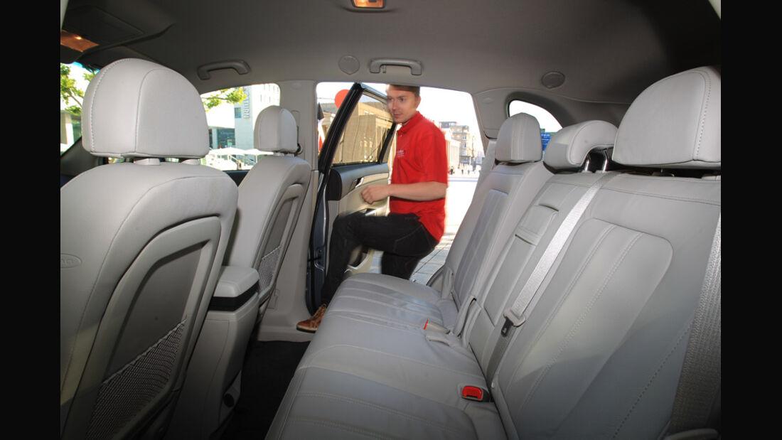 Opel Antara, 2.2 CDTi, 4x4, Innenraum, Fond
