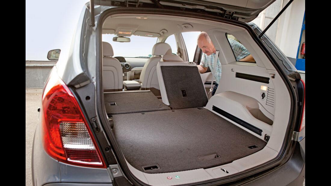 Opel Antara, 2.2 CDTi, 4x4, Kofferraum
