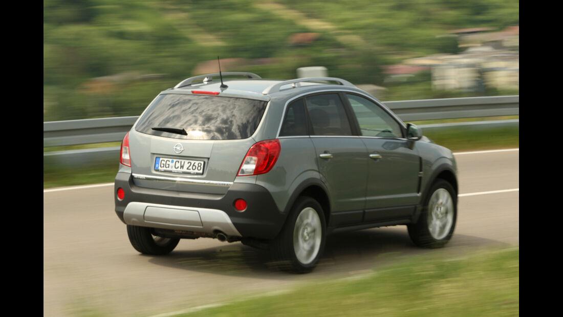 Opel Antara, Heck