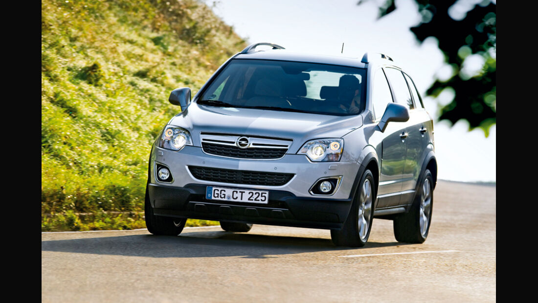 Opel Antara, Retusche