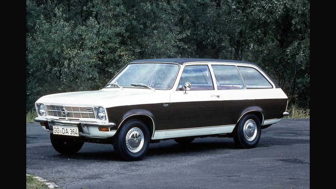 Opel Ascona A, Caravan, Voyage, 1970-1975