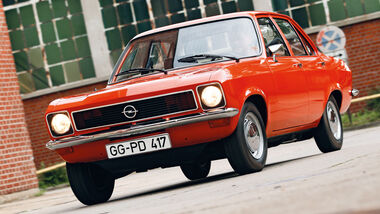 Opel Ascona, Frontansicht