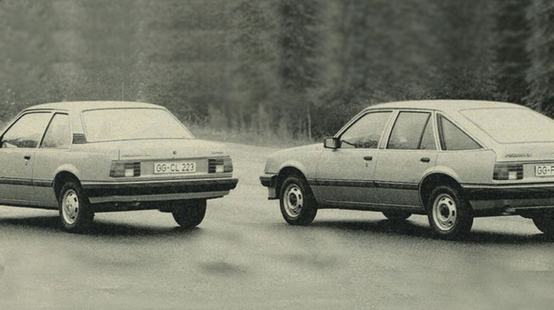 Opel, Ascona, IAA 1981