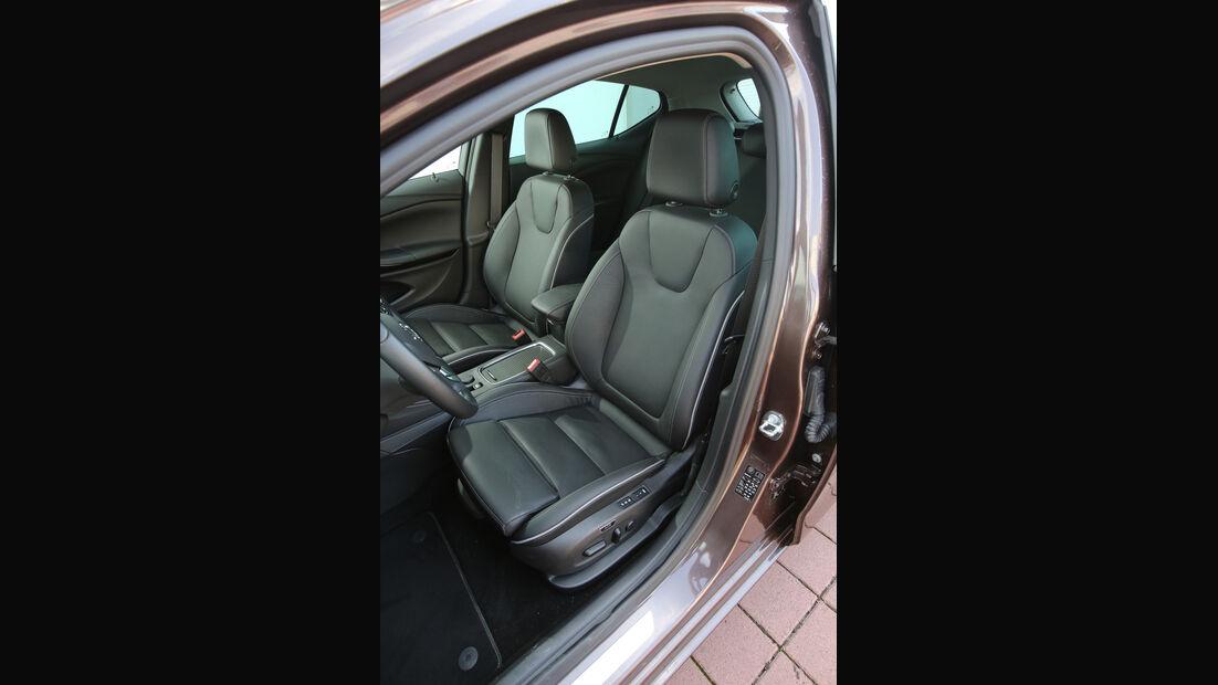 Opel Astra 1.0 DI Turbo, Fahrersitz