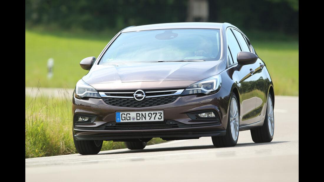 Opel Astra 1.0 DI Turbo, Frontansicht
