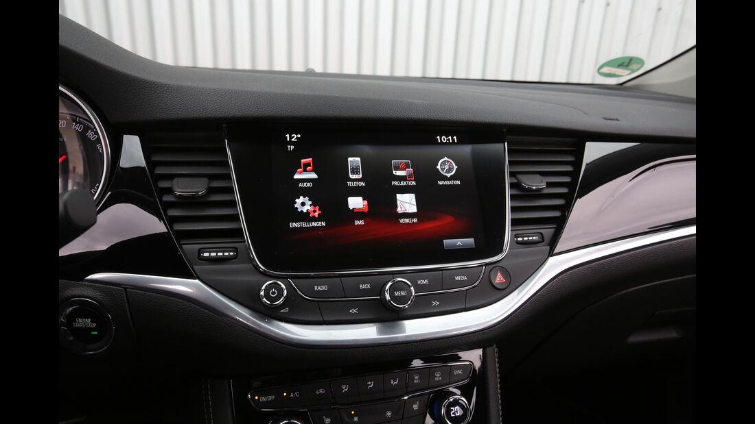 Opel Astra 1.0 DI Turbo, Infotainment