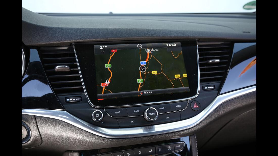 Opel Astra 1.0 Turbo, Display, Monitor