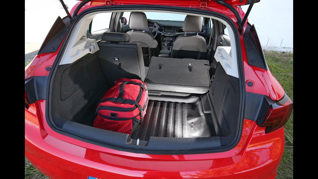 Opel Astra 1.0 Turbo, Kofferraum