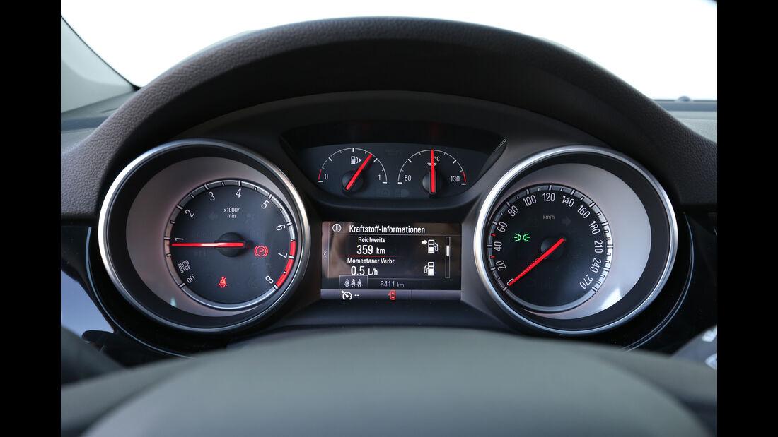 Opel Astra 1.0 Turbo, Rundinstrument