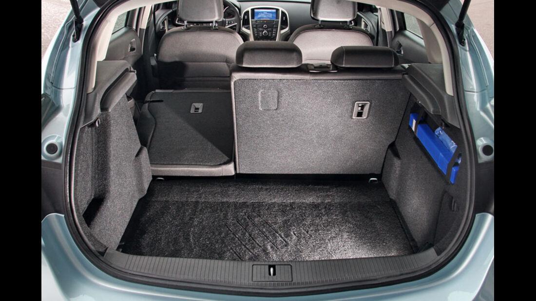 Opel Astra 1.3 CDTi Ecoflex, Kofferraum
