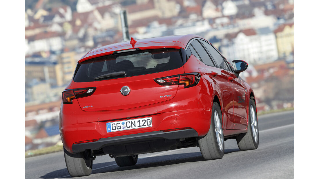 Opel Astra 1.4 CNG, Exterieur
