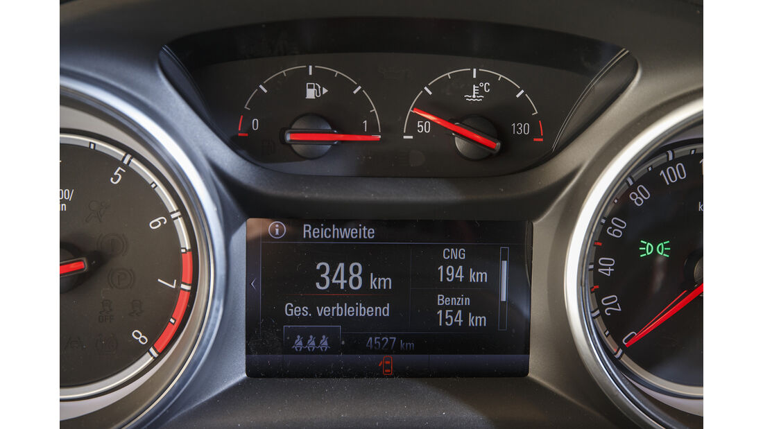 Opel Astra 1.4 CNG, Interieur
