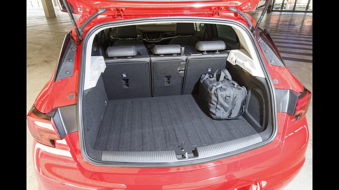 Opel Astra 1.4 CNG, Kofferraum