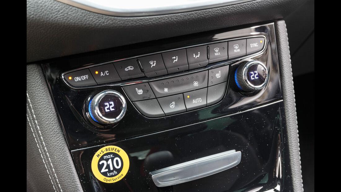Opel Astra 1.4 DI Turbo, Bedienelemente
