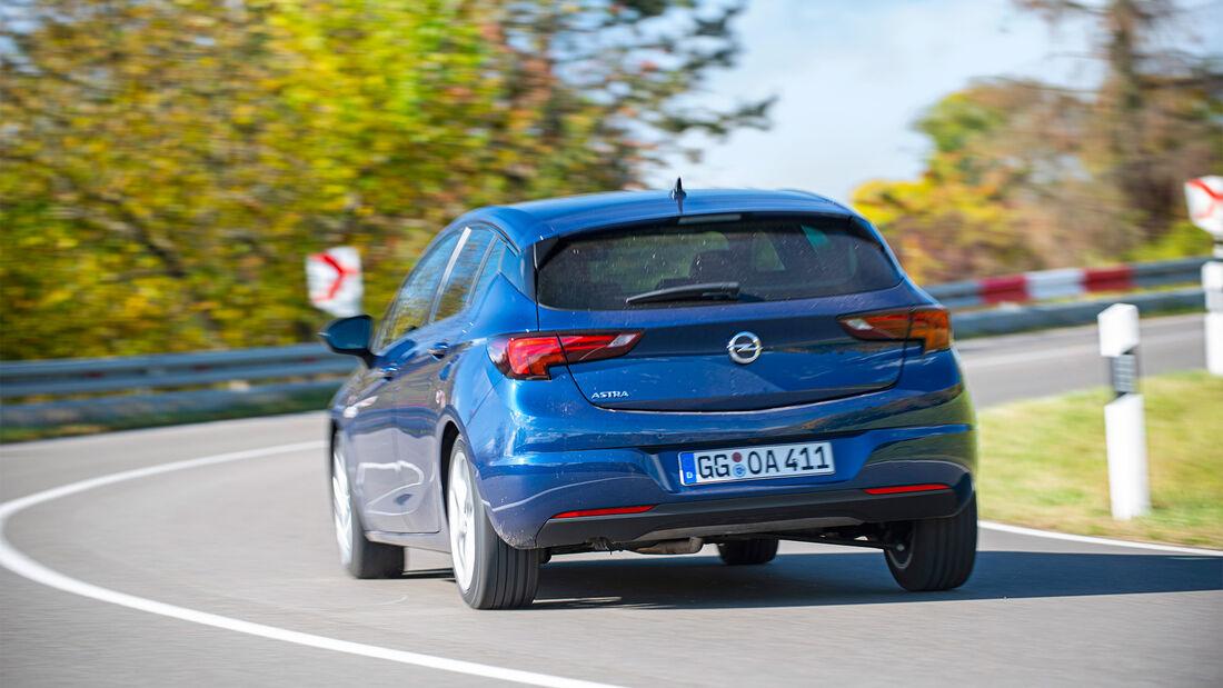 Opel Astra 1.4 DI Turbo CVT Test