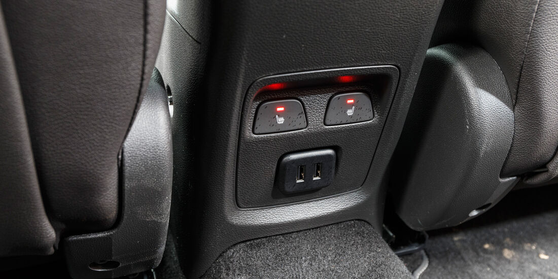 Opel Astra 1.4 DI Turbo, Sitzheizung