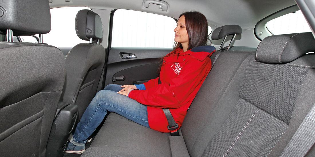 Opel Astra 1.4 Turbo Fun, Kofferraum