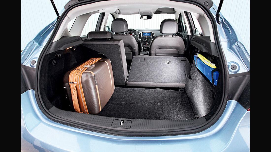 Opel Astra 1.4 Turbo, Kofferraum
