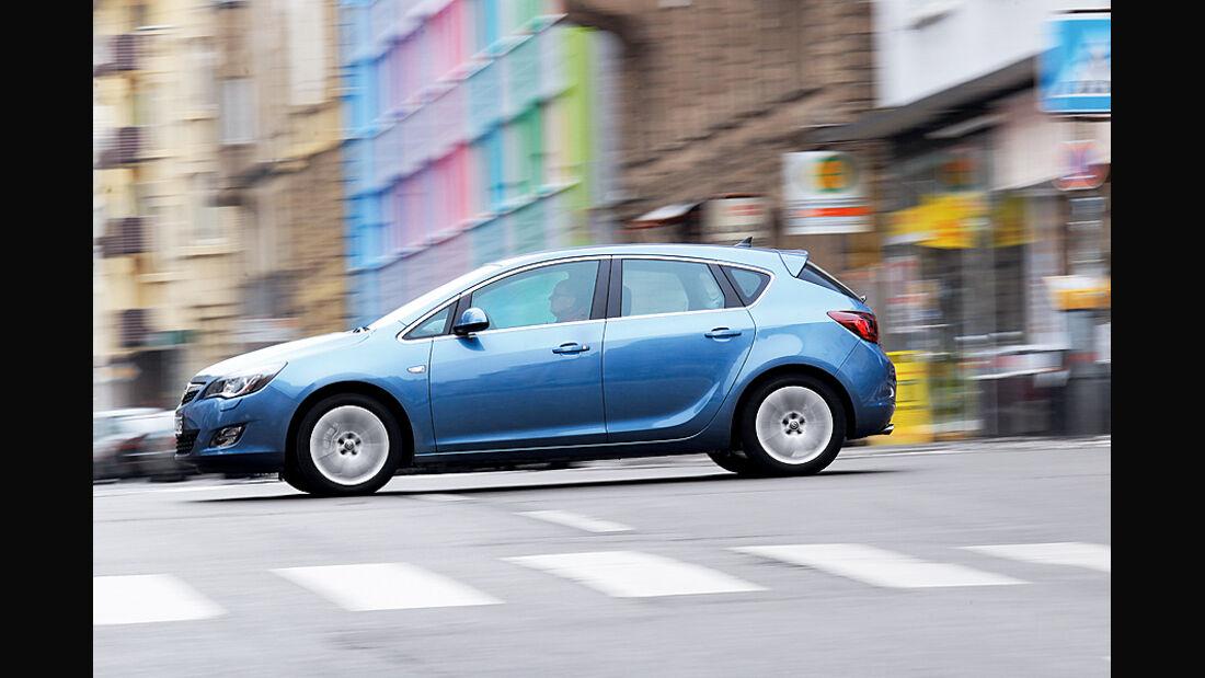 Opel Astra 1.4 Turbo, Seite