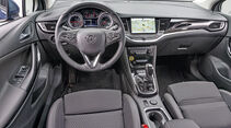 Opel Astra 1.4 Turbo, interieur