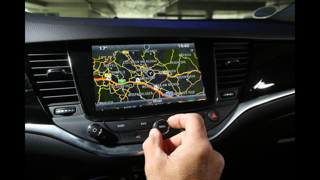 Opel Astra 1.6 Biturbo CDTI, Navi