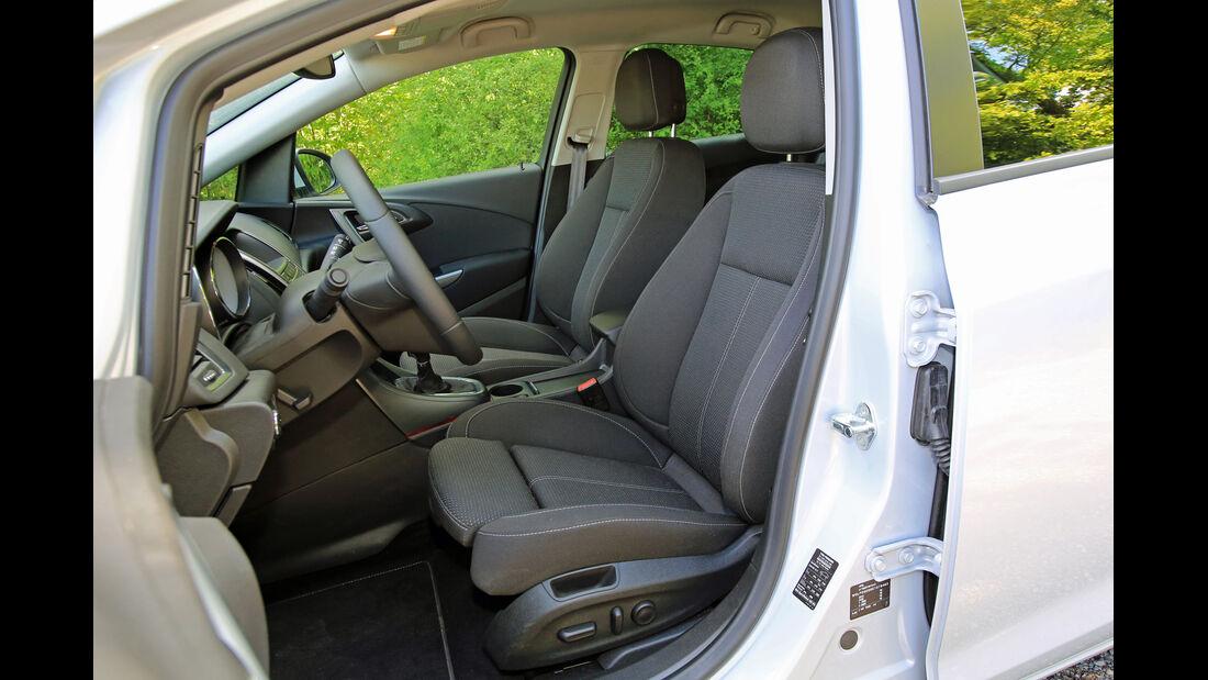 Opel Astra 1.6 CDTI EcoFLEX, Fahrersitz