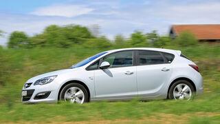 Opel Astra 1.6 CDTI EcoFLEX, Seitenansicht