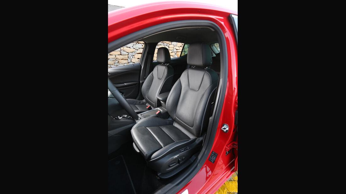 Opel Astra 1.6 CDTI, Fahrersitz