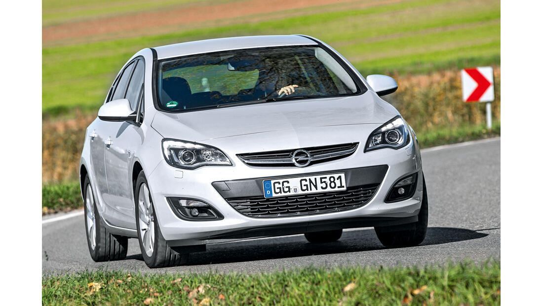 Opel Astra 1.6 CDTI, Frontansicht