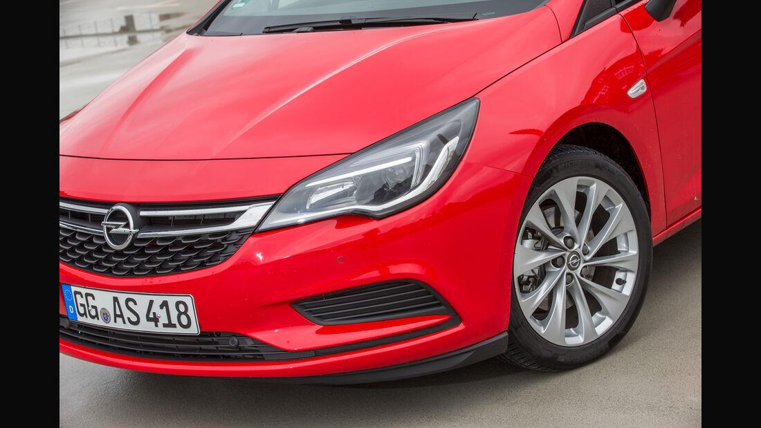 Opel Astra 1.6 CDTI, Frontscheinwerfer