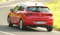 Opel Astra 1.6 CDTI, Heckansicht