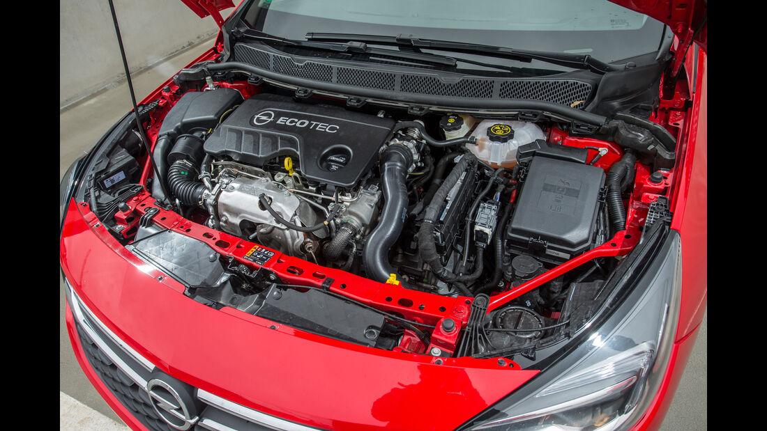 Opel Astra 1.6 CDTI, Motor