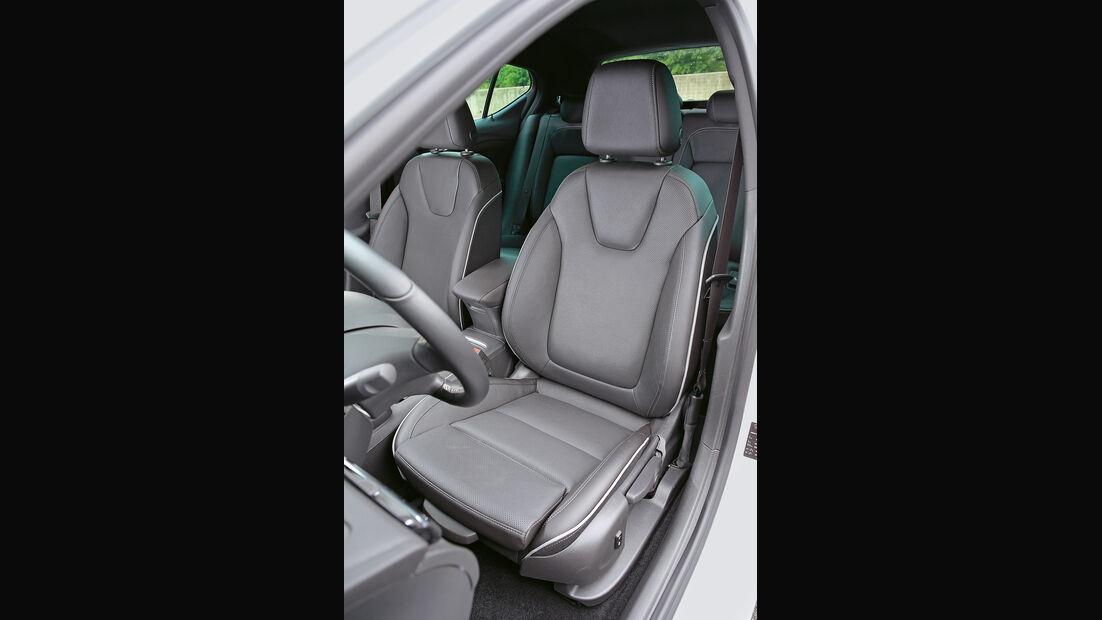 Opel Astra 1.6 DI Turbo, Fahrersitz