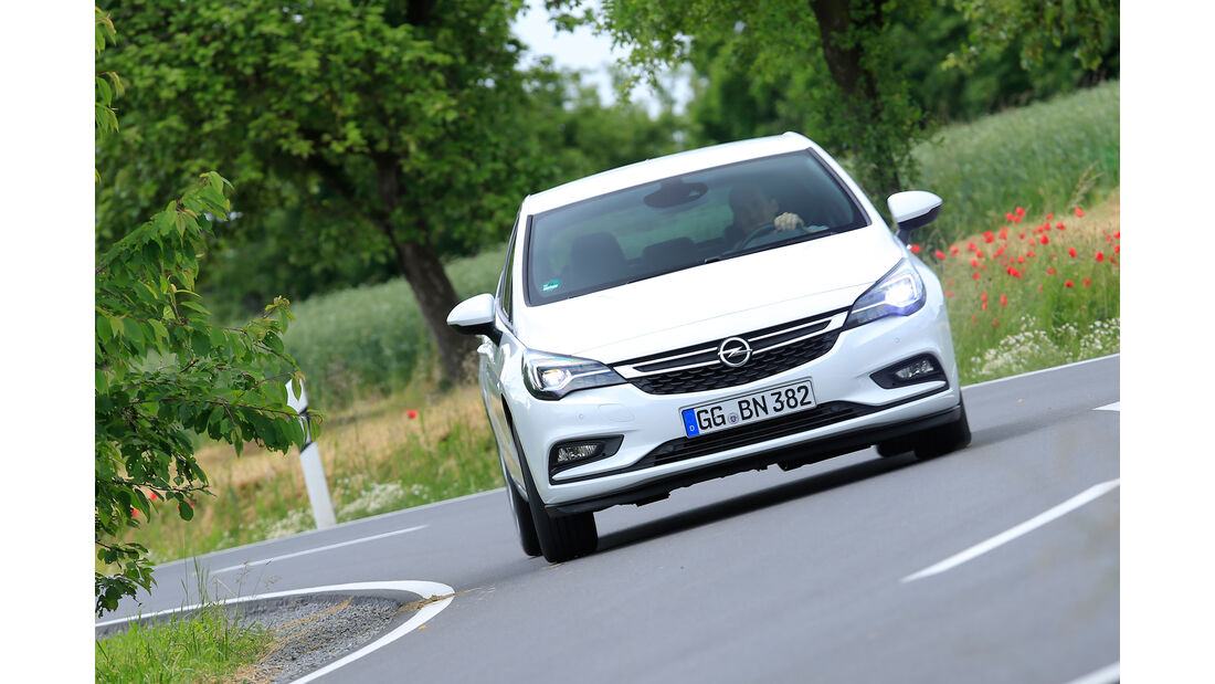 Opel Astra 1.6 DI Turbo, Frontansicht