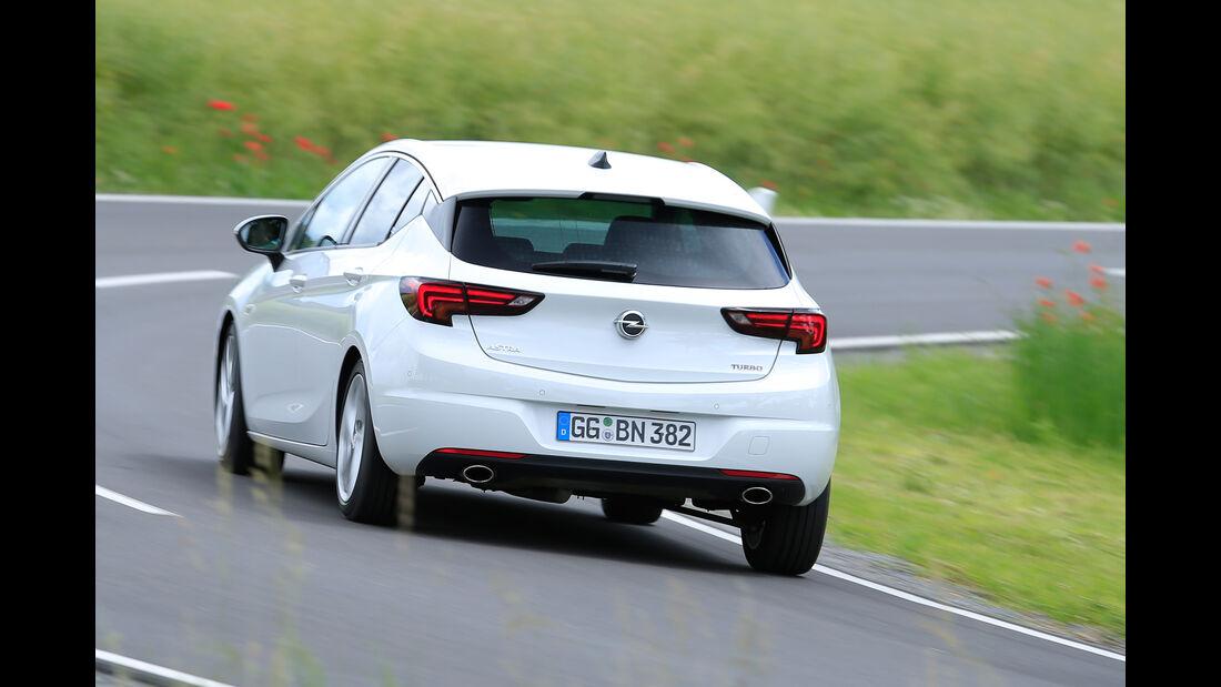 Opel Astra 1.6 DI Turbo, Heckansicht
