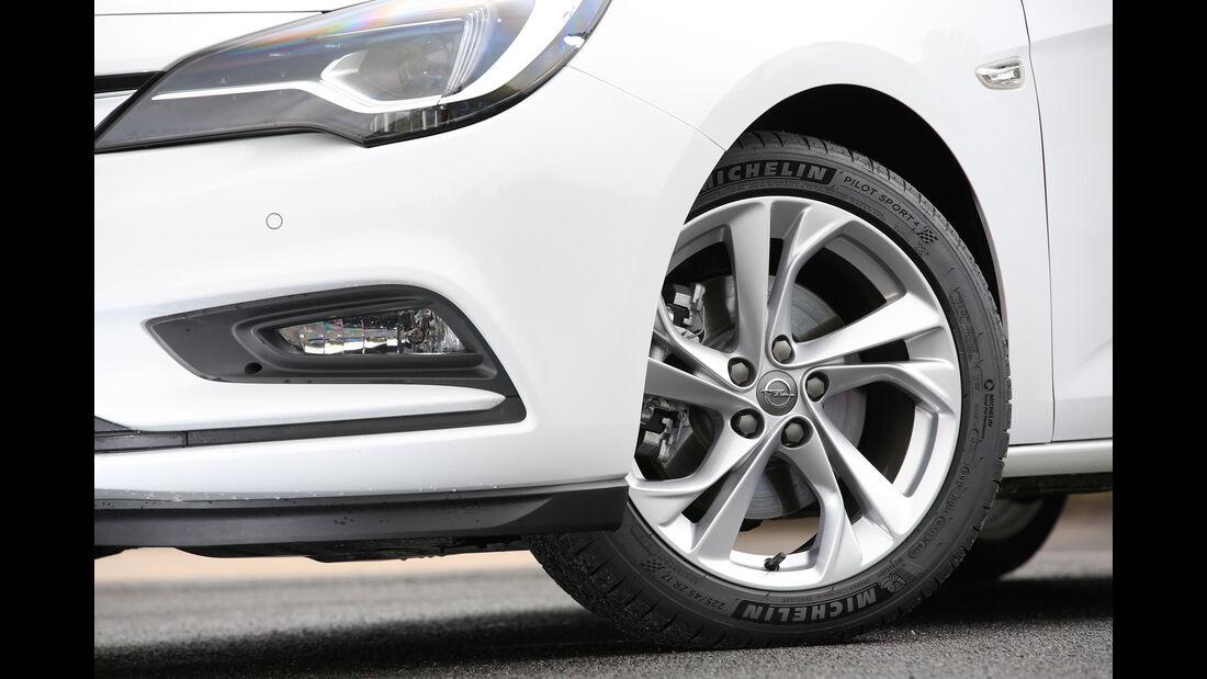 Opel Astra 1.6 DI Turbo, Rad, Felge