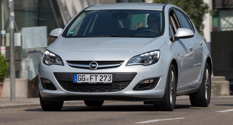 Opel Astra 1.6 SIDI Turbo, Frontansicht